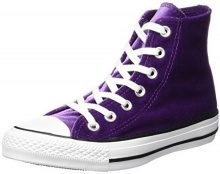 Converse Ctas Hi White, Sneaker a Collo Alto Unisex – Adulto, Violett (Night Purple), 36.5 EU