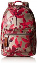 Oilily Jolly Backpack Mvz - Zaini Donna, Rot (Dark Red), 13x36x22 cm (B x H T)