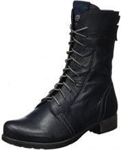 Think Denk, Stivali Desert Boots Donna, Blu (Water/kombi 86), 37 EU