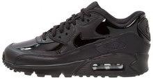 Nike Sportswear AIR MAX 90 LEA Sneakers basse black