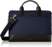 Skagen Herren Tasche Peder - Slim Brief Borsa Uomo, Blau (Ink), 6x29x40 cm (B x H T)