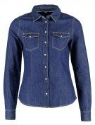ONLROCK - Camicia - dark blue denim