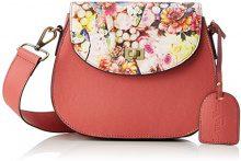 Laura Vita Dieppe - Borse a spalla Donna, Pink (Rose), 7x18x22 cm (B x H T)
