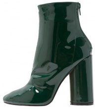 Public Desire IMPACT Stivaletti con tacco dark green