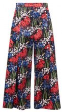 Mother of Pearl BENNIE Pantaloni poppy meadow navy