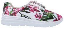 Sneakers con elementi floreali