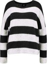 ONLY ONLJULIANA Maglione black/white melange