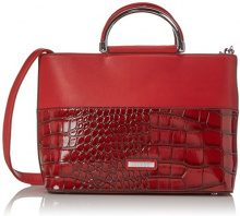 Bulaggi Shadow Handbag - cartella Donna, Rot, 21x12x29 cm (B x H T)