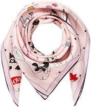 CODELLO 81012901, Sciarpa Donna, Rosa (Light Pink 10), Taglia unica