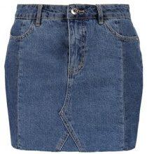 Vero Moda VMMOLLY CUTLINE SKIRT Gonna di jeans light blue denim
