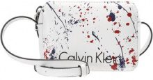 Calvin Klein ZONE SMALL SPLASH Borsa a tracolla white