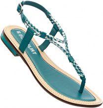 Sandalo in pelle (Blu) - BODYFLIRT