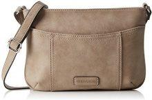 GERRY WEBEROpen Mind Shoulder Bag H, S - Borse a Tracolla Donna , Beige (Beige (taupe 104)), 27x20x1 cm (B x H x T)