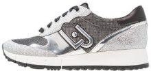 Liu Jo Jeans LINDA Sneakers basse silver