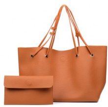 Set di borsa a tracolla con portafoglio 2 pz.