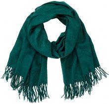PIECES Pcjira Wool Scarf Noos, Sciarpa Donna, Verde (Ponderosa Pine), Taglia Unica