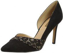 Miss KGCai - Scarpe con Tacco Donna, Nero (Black (Black/Comb)), 38
