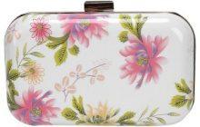 Piccola borsa a tracolla a fiori