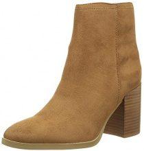 Buffalo Shoes B006A-58 S0008F IMI Suede, Stivaletti Donna, Beige (Camel), 40 EU