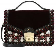 GEDEBE CHELSEA TRICOT Borsa a tracolla burgundy