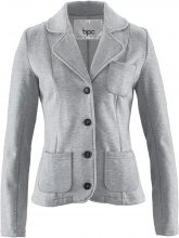 Blazer in felpa (Grigio) - bpc bonprix collection