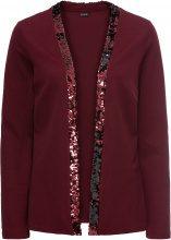 Blazer in jersey con paillettes cangianti (Rosso) - BODYFLIRT
