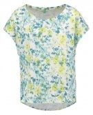 T-shirt con stampa - yellow