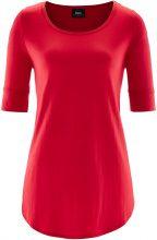 Maglia lunga a mezza manica (Rosso) - bpc bonprix collection