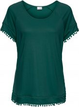 Maglia con pompon (Verde) - BODYFLIRT
