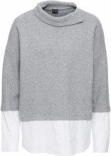 Pullover con camicia finta (Grigio) - BODYFLIRT
