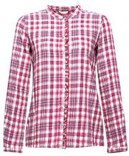 ESPRIT 018ee1f005, Camicia Donna, Multicolore (Berry Red 625), 36