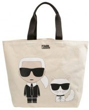 KARL LAGERFELD IKONIK  Shopping bag white