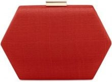 Borsa Shopping Olga Berg  OB7168 Clutch Accessori Rosso
