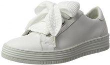 Bullboxer 420034E5L, Sneaker Donna, Bianco (White Whit), 36 EU