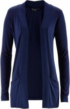 Cardigan in maglina elasticizzata (Blu) - bpc bonprix collection