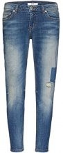 FIND Eliana Jeans Slim Donna, Blu (Natural X Wash), W28/L32 (Taglia Produttore: Small)