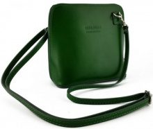 Borsa a tracolla Dream Leather Bags Made In Italy  Borsa Donna A Tracolla In Pelle Colore Verde - Pelletteria Tosca