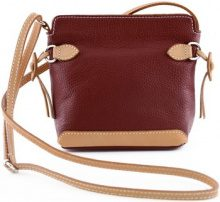 Borsa a spalla Dream Leather Bags Made In Italy  Borsa Donna A Tracolla In Vera Pelle, Dettagli In Pelle A Contra