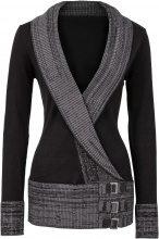 Pullover (Nero) - BODYFLIRT boutique