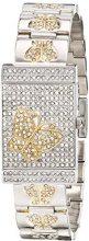Burgi'da donna, analogico, al quarzo giapponese Display orologio, colore: argento