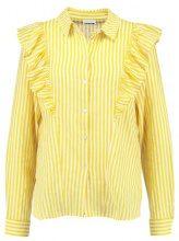 Noisy May NMJACK Camicia lemon chrome/bright white