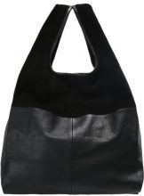 Topshop Shopping bag black