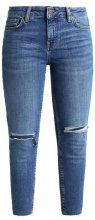 New Look Petite RIPPED FRAY HEM BRAMLEY  Jeans Skinny Fit blue