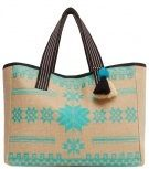 LIMA - Shopping bag - turquoise
