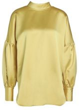 By Malene Birger ALLICE   Camicetta cream gold