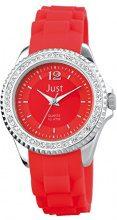Just Watches 48-S3858-RD - Orologio da polso da donna, cinturino in caucciù colore rosso