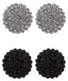 sweet deluxe KIMMY 2 PACK Orecchini black/black diamond