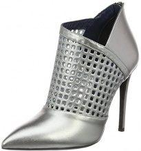 Pollini Shoes SA1007, Scarpe con Tacco Donna, Grigio (Grey 906), 36 EU