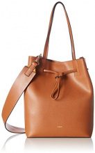 JoopGrano Colorblocking Lyda Matchsack Mvo - Borsa a spalla Donna , marrone (marrone (Cognac)), 13x30x24 cm (B x H x T)