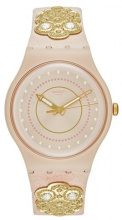Swatch EMBROIDERY Orologio rose